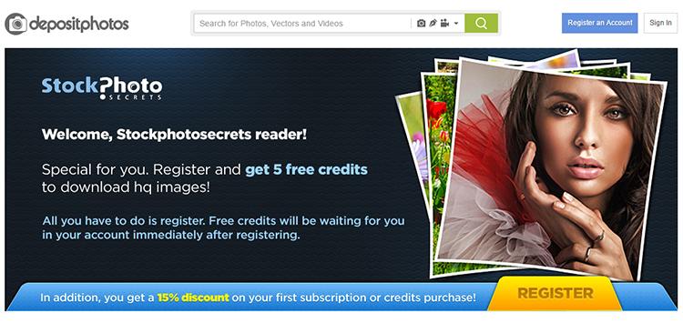 depositphotos free download